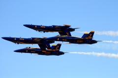 Anjos azuis Imagem de Stock Royalty Free