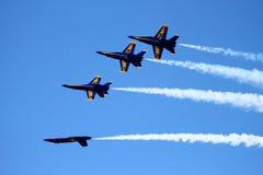 Anjos azuis Imagem de Stock