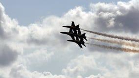 Anjos azuis de marinha dos E.U. Foto de Stock