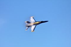 Anjos azuis no vôo na semana da frota Imagens de Stock