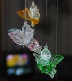 Anjos bonitos do vidro Imagem de Stock