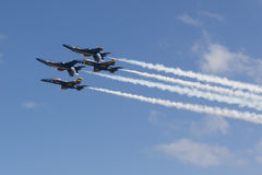 Anjos de azuis marinhos Fotografia de Stock Royalty Free