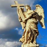 Anjos de Roma Imagem de Stock