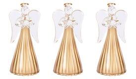 Anjos do Natal Fotografia de Stock