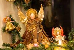 Anjos do Natal Fotos de Stock Royalty Free