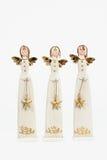 Anjos do Natal Fotos de Stock