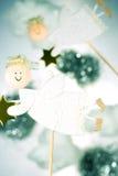Anjos do Natal Foto de Stock Royalty Free