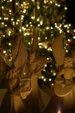 Anjos do Natal foto de stock