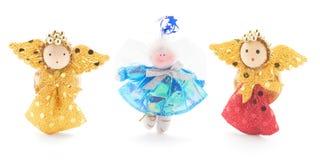 Anjos do Natal Imagens de Stock Royalty Free