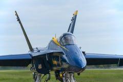 Anjos F-18 azuis Fotografia de Stock