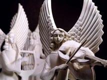 Anjos musicais Fotos de Stock Royalty Free