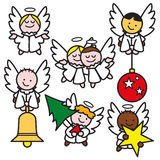 Anjos pequenos 2 Imagens de Stock Royalty Free
