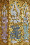 Anjos tailandeses que moldam a arte Imagem de Stock