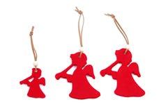 Anjos vermelhos Imagens de Stock Royalty Free