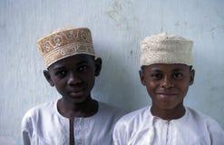ANJOUAN DELL'AFRICA COMORE Immagini Stock