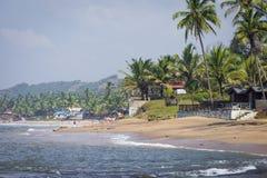 Anjuna Beach famous tourist destination, Goa, India Stock Image