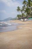 Anjuna Beach famous tourist destination, Goa, India Royalty Free Stock Image