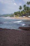 Anjuna Beach famous tourist destination, Goa, India Stock Photo