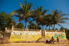 Anjuna beach Stock Photo