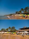 Anjuna beach Royalty Free Stock Image