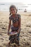 Anjuna, Goa, Ινδία Στοκ φωτογραφίες με δικαίωμα ελεύθερης χρήσης