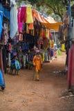 Anjuna, Goa, Ινδία Στοκ Φωτογραφία