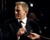 Ankünfte an den orange britischen Akademie-Film-Preisen Lizenzfreies Stockfoto