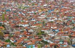 Ankara. Density neighbourhood in Ankara the capital city of Turke Royalty Free Stock Photography