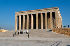 Ankara, Ataturk Memorial Tomb Royalty Free Stock Photo