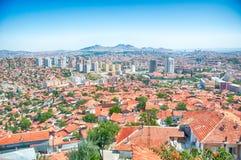 Ankara. Beautiful panorama of ankara in Turkey in a sunny day Royalty Free Stock Photo