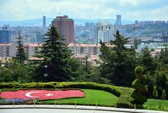 Ankara, Capital city of Turkey royalty free stock photography