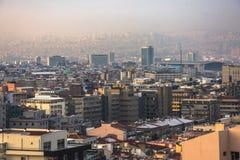 Ankara, capital de Turquía en invierno Imágenes de archivo libres de regalías