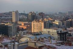 Ankara, capital de Turquía en invierno Foto de archivo libre de regalías