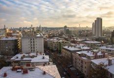 Ankara, capital de Turquía en invierno Fotografía de archivo libre de regalías