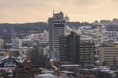 Ankara, capital de Turquía en invierno Foto de archivo