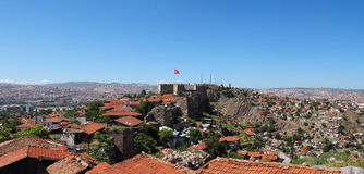 Ankara Castle Royalty Free Stock Photo