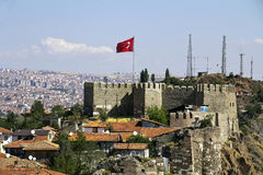 Ankara Castle Royalty Free Stock Photography