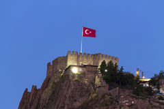 Ankara Castle - Night Stock Photo