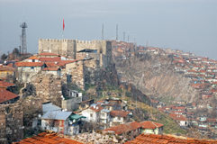 Ankara Castle, Turkey Royalty Free Stock Photos