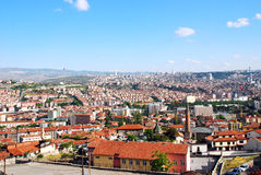 Ankara city skyline Stock Image