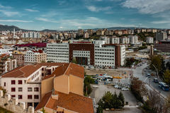 Ankara city in summer Stock Photos
