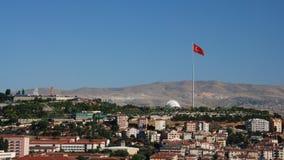 Ankara Cityscape - 50th Year Park. An Ankara (capital of Turkey) cityscape with view of 50th Year Park and surrounding houses Royalty Free Stock Photos