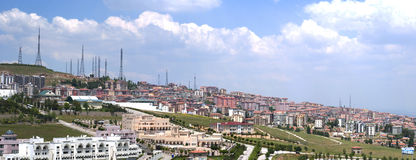 Ankara Hillside Panorama Stock Image