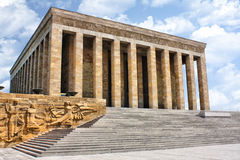 Ankara, mausoleo de Ataturk - Turquía Fotografía de archivo