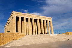 Ankara, Mausoleum of Ataturk - Turkey royalty free stock image
