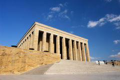 Ankara, Mausoleum of Ataturk - Turkey Stock Photo
