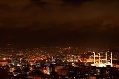 Ankara nights Stock Images