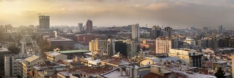 Ankara, secteur de gratte-ciel Photos stock