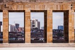 Ankara Skyline at Atatürk Mausoleum Stock Photography