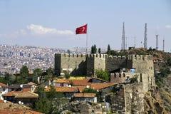 Ankara slott royaltyfri fotografi